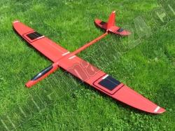 RCRCM E-Hornet Spw.2,0m CFK(Carbon) Rot/Schwarz