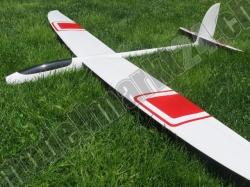 RCRCM E-Hornet Spw.2,0m GFK Weiss/Rot