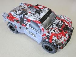 VRXRacing DT5 EBL Camouflage 4WD 1:10 Short Course Truck, ..