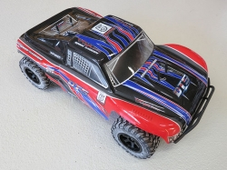 VRXRacing DT5 EBL Rot 4WD 1:10 Short Course Truck, Brushle..