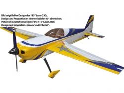 "AJ Aircraft Laser 230Z 60"" 1.52m Reflex Design ARF"