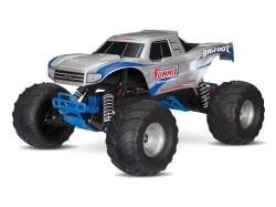 Traxxas Bigfoot 2WD Silber RTR 1:10 Monster Truck (mit Akk..