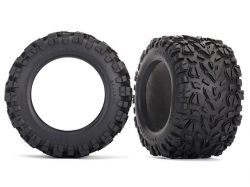 "Traxxas 8670 Tires, Talon EXT 3.8"" (2)/ foam inserts (2)"