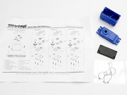 Traxxas 2074 Servo case/gaskets (for 2056 and 2075 waterpr..