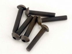 Traxxas 2579 Screws, 3x15mm button-head machine (hex drive..