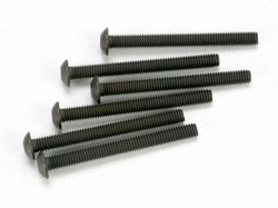 Traxxas 2582 Screws, 3x30mm button-head machine (hex drive..