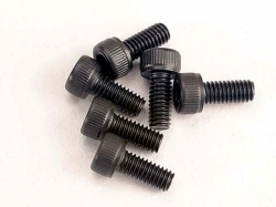 Traxxas 3215 Screws, 2.5x6mm cap-head machine (hex drive) ..