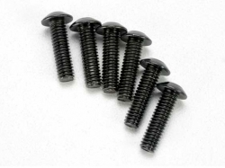 Traxxas 3938 Screws, 4x14mm button-head machine (hex drive..