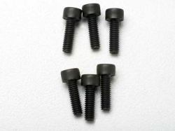 Traxxas 3965 Screws, 2.5x8mm cap-head machine (6)
