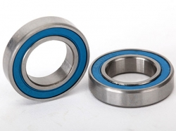 Traxxas 5101 Ball bearings, blue rubber sealed (12x21x5mm)..