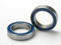 Traxxas 5120 Ball bearings, blue rubber sealed (12x18x4mm)..