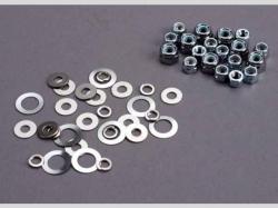 Traxxas 1252 NUT SET, LOCK NUTS (3mm (11) A