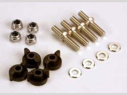 Traxxas 1516 ANCHORING PINS WITH LOCKNUTS (