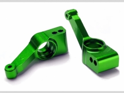 Traxxas 1952G Carriers, stub axle (green-anodized 6 061-T6..
