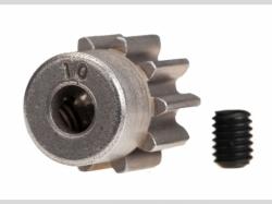 Traxxas 6746 Gear, 10-T pinion (32-p) (steel)/ set screw