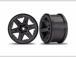 Traxxas 6772 Wheels, RXT 2.8' (black) (2)