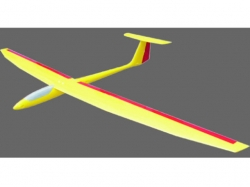 Royal-Model Presto 2.6m Elektro-Segler