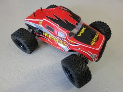 VRXRacing Hercules Mega MT Rot 4WD 1:10 Monstertruck, Brus..