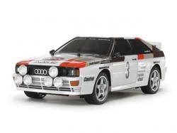 Tamiya Audio quattro Rallye A 1:10 Bausatz inkl. Motor und..