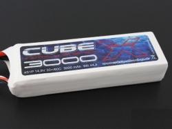SLS X-CUBE 3000mAh 3S1P 11,1V 30C/60C LiPo-Akku