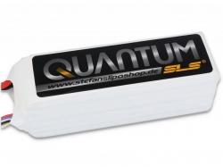 SLS Quantum 5000mAh 6S1P 22,2V 65/130C LiPo-Akku