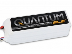 SLS Quantum 4000mAh 6S1P 22,2V 65/130C LiPo-Akku