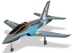 FMS Futura V2 Jet EDF 80 PNP - 106 cm - Blau - Combo incl...
