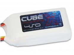 SLS X-CUBE 450mAh 3S1P 11,1V 30C/60C LiPo-Akku