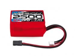 nVision RX LiPo 2500mAh 7.4V Uni Plug Hump