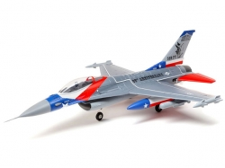 E-Flite F-16 Falcon 64mm EDF 729mm  BNF w/AS3X & SAFE Select