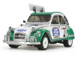 Tamiya Citroen 2CV Rally 1:10 Bausatz inkl. Motor und Regl..