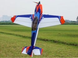 "EXTREMEFLIGHT-RC EXTRA 300 60"" V2 ORANGE / BLAU ARF"