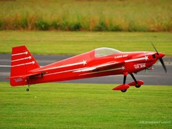 "EXTREMEFLIGHT-RC LASER 74"" V2 ROT/WEISS ARF"