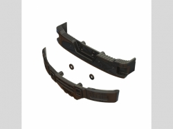ARRMA AR320461 Bumper Set (Black Chrome)