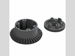 ARRMA AR310872 Diff Case Set 37T Main Gear 4x4 BLX 4S