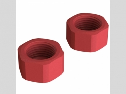 ARRMA AR310808 Composite Slipper Clutch Nut 4x4 (2)