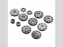 ARRMA AR330339 Shock Piston Set Nero (2)
