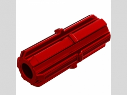ARRMA AR310881 Slipper Shaft Red 4x4 775 BL X 3S 4S