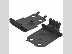 ARRMA AR320401 F/R Lower Skidplate (2) 4x4 Granite M EGA