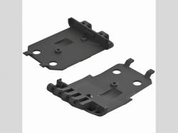 ARRMA AR320419 F/R Lower Skidplate (2) 4x4 Senton Mega