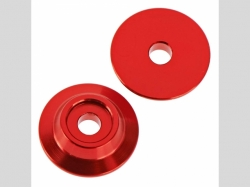 ARRMA AR320215 Wing Button Aluminum Red (2)