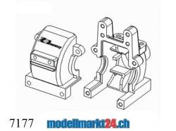 ZDRacing 7177 Getriebegehäuse zu Modelle 1:10