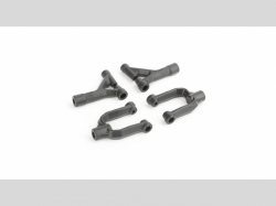 ECX0814 Suspension Arm Set: Front Upper