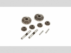 ECX0857 Differential Gear and Shaft Set