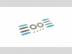 ECX0869 Brake Disc, Caliper, Pad Set