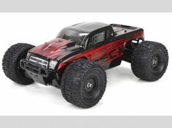 ECX BUGGY RUCKUS RTR 4WD Schwarz/Rot 1:18 EP, RC-Modellauto
