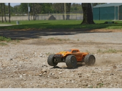 ECX BUGGY RUCKUS RTR 4WD Orange/Gelb 1:18 EP, RC-Modellauto