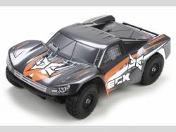 ECX BUGGY TORMENT RTR 4WD Gau/Orange 1:18 EP, RC-Modellauto