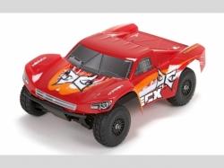 ECX BUGGY TORMENT RTR 4WD Rot/Orange 1:18 EP, RC-Modellauto