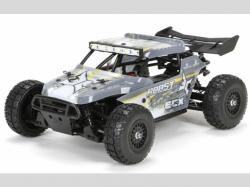 ECX BUGGY ROOST RTR 4WD Grau/Gelb 1:18 EP, RC-Modellauto
